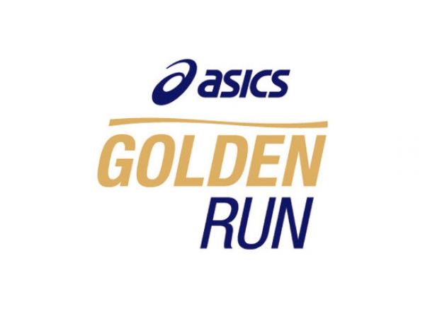 Golden Run Asics