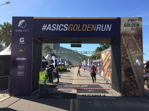 Golden Run Asics - 2